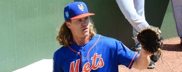 New York Mets pitcher Noah Syndergaard.