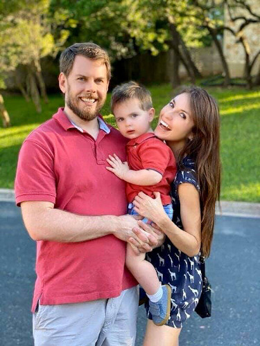 Ben Sullivan and family.