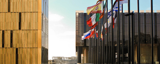 the European Court of Justice in Kirchberg, Luxembourg City, Luxembourg.