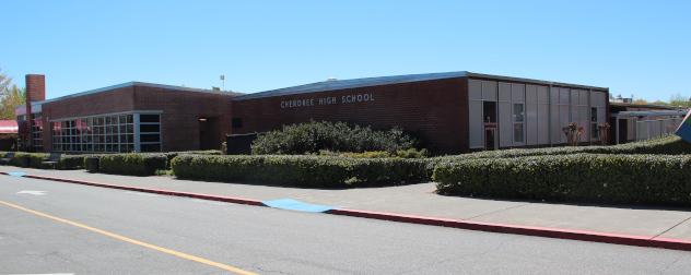 Cherokee High School in Canton (Cherokee County), Georgia.