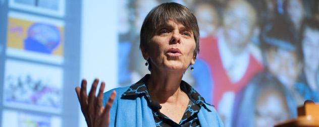 Free speech activist Mary Beth Tinker.