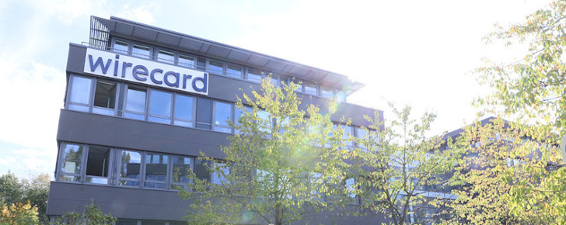 Wirecard Headquarters in Aschheim, Germany.