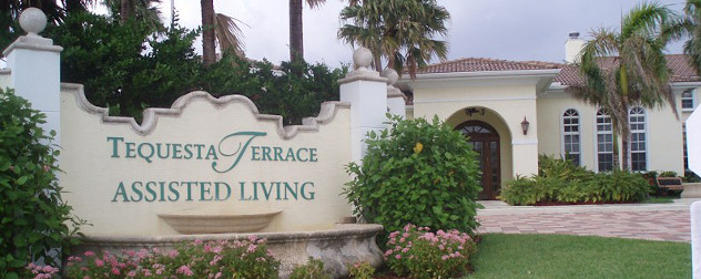 Assisted living elder care facility in Tequesta, Florida.