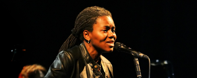 Singer-songwriter Tracy Chapman at the Cactus Festival in Bruges, Belgium, July 10, 2009.